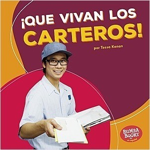 Cover: ¡Que vivan los carteros! (Hooray for Mail Carriers!)