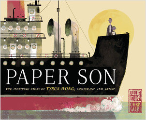 Cover: Paper Son: The Inspiring Story of Tyrus Wong, Immigrant and Artist