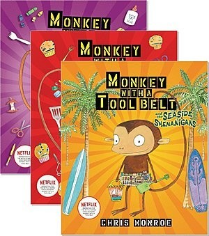 Cover: Monkey with a Tool Belt — Library Bound Set