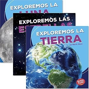 Cover: Bumba Books ™ en español — Una primera mirada al espacio (A First Look at Space) — Library Bound Set