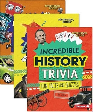Cover: Trivia Time! (Alternator Books ™) — Library Bound Set