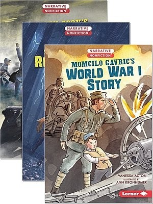Cover: Narrative Nonfiction: Kids in War — Paperback Set