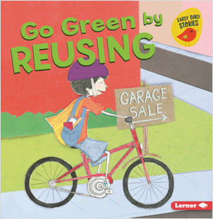 Cover: Go Green by Reusing