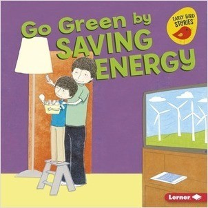 Cover: Go Green by Saving Energy