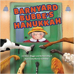 Cover: Barnyard Bubbe's Hanukkah