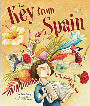 Cover: The Key from Spain: Flory Jagoda and Her Music