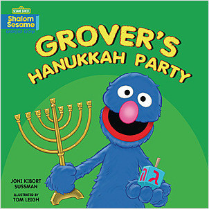 Cover: Grover's Hanukkah Party