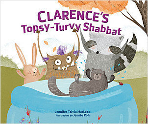Cover: Clarence's Topsy-Turvy Shabbat