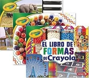 Cover: Conceptos Crayola ® (Crayola ® Concepts) — Library Bound Set