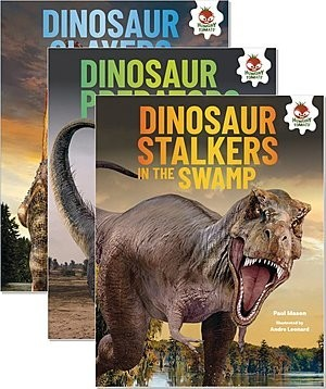 Cover: Dinosaurs Rule — Library Bound Set