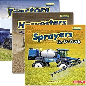 Cover: Farm Machines at Work — Hardcover Set