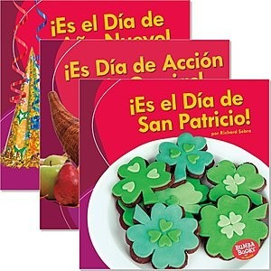 Cover: Bumba Books ™ en español — ¡Es una fiesta! (It's a Holiday!) — eBook Set