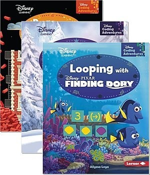 Cover: Disney Coding Adventures — Paperback Set