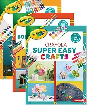 Cover: Colorful Crayola ® Crafts — Library Bound Set