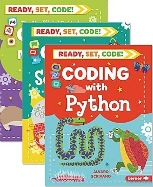 Cover: Ready, Set, Code! — Hardcover Set