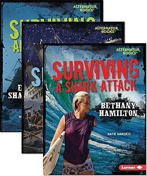 Cover: They Survived (Alternator Books ® ) — Library Bound Set