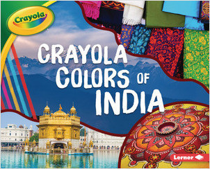 Cover: Crayola ® Colors of India