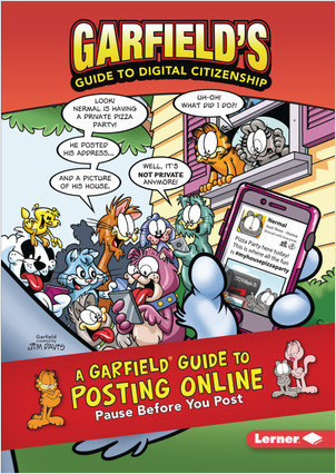 Cover: A Garfield ® Guide to Posting Online: Pause Before You Post