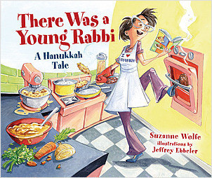 Cover: There Was a Young Rabbi: A Hanukkah Tale