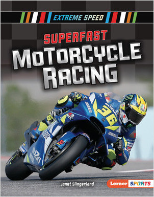Cover: Superfast Motorcycle Racing