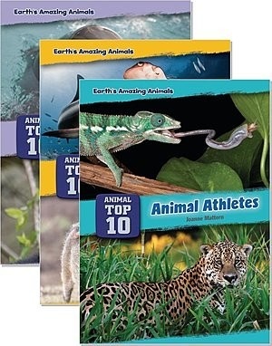 Cover: Core Content Science — Animal Top Ten — Library Bound Set