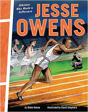 Cover: Jesse Owens: Athletes Who Made a Difference