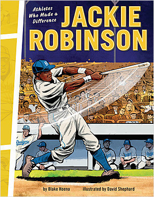 Cover: Jackie Robinson: Athletes Who Made a Difference