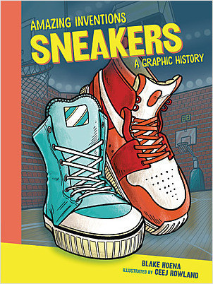 Cover: Sneakers: A Graphic History