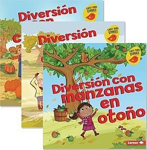 Cover: Diversión en otoño (Fall Fun) (Early Bird Stories ™ en español) — Hardcover Set
