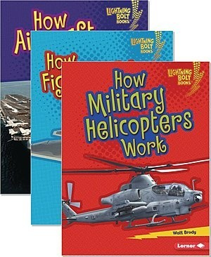 Cover: Lightning Bolt Books ® — Military Machines — Hardcover Set
