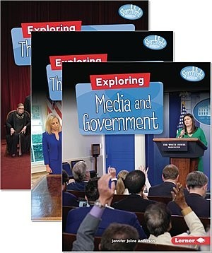 Cover: Searchlight Books ™ — Getting into Government — Paperback Set