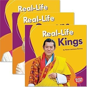 Cover: Bumba Books ® — Real-Life Royalty — eBook Set