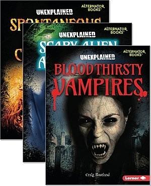 Cover: Unexplained (Alternator Books ® ) — eBook Set