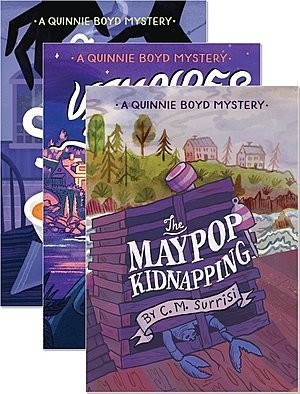 Cover: Quinnie Boyd Mysteries — Paperback Set
