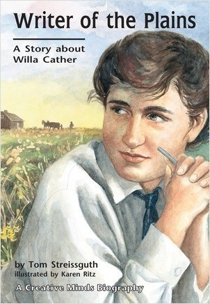 Cover: Writer of the Plains: A Story about Willa Cather