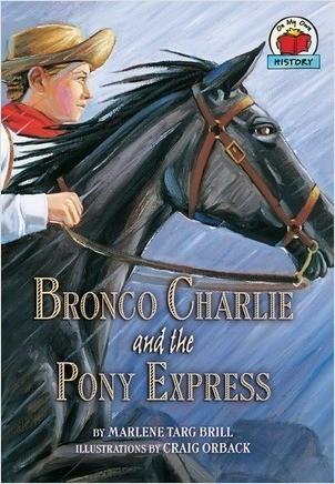 Cover: Bronco Charlie and the Pony Express