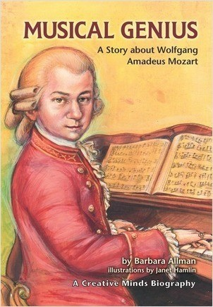 Cover: Musical Genius: A Story about Wolfgang Amadeus Mozart