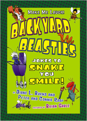 Cover: Backyard Beasties: Jokes to Snake You Smile