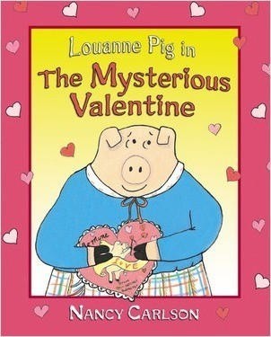 Cover: Louanne Pig in The Mysterious Valentine, 2nd Edition