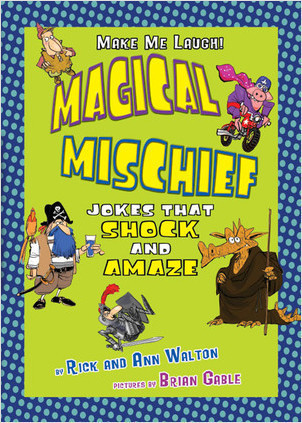 Cover: Magical Mischief: Jokes That Shock and Amaze