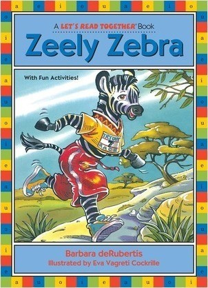 Cover: Zeely Zebra: Long Vowel e