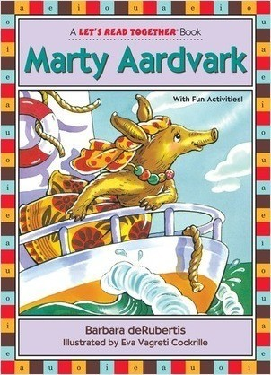 Cover: Marty Aardvark: Vowel Combination ar