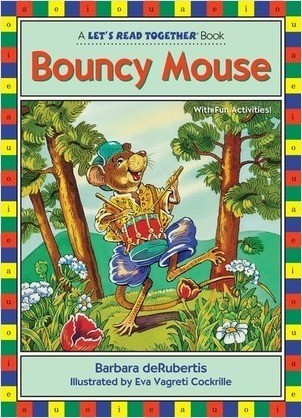 Cover: Bouncy Mouse: Vowel Combinations oi, ou
