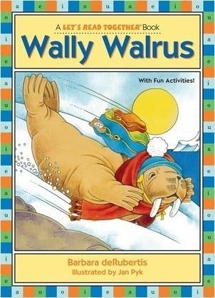 Cover: Wally Walrus: Vowel Combinations ai, au, aw
