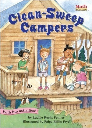 Cover: Clean-Sweep Campers: Fractions