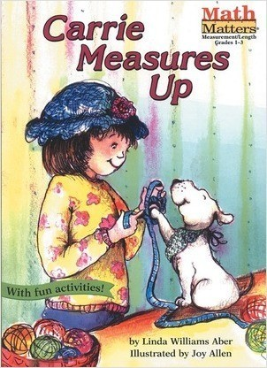 Cover: Carrie Measures Up: Measurement: Length