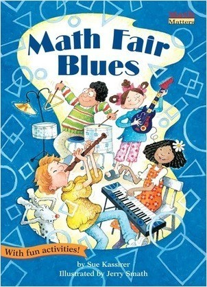 Cover: Math Fair Blues: 2-D Shapes