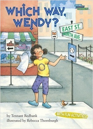 Cover: Which Way, Wendy?: Map Symbols