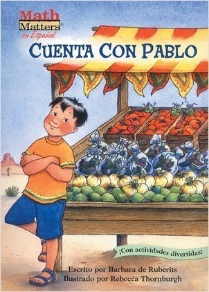 Cover: Cuenta con Pablo (Count on Pablo): Counting & Skip Counting
