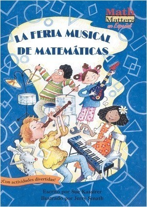 Cover: La feria musical de matemáticas (Math Fair Blues): 2-D Shapes